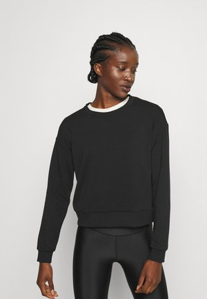 ONPLOUNGE O NECK - Sweatshirt - black