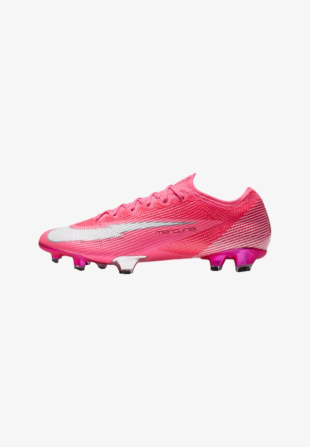 MERCURIAL VAPOR XIII MBAPPE ELITE FG - Screw-in stud football boots - pinkweiss