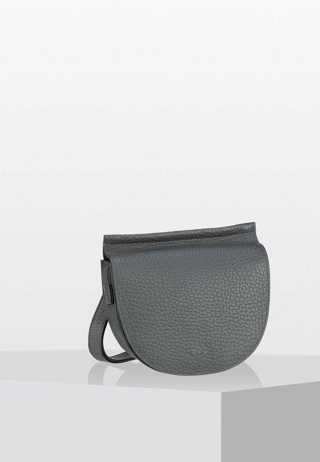 HIRSCH GWYNNE - Across body bag - stahl