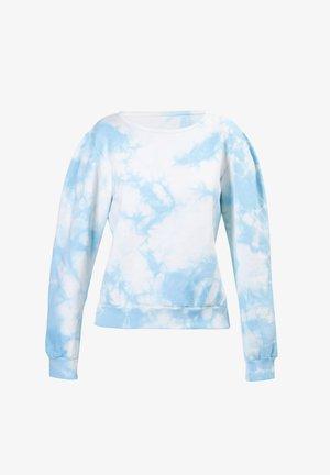 OMBRE TIE DYE - Sweatshirt - blue