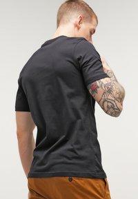 adidas Originals - ORIGINAL TREFOIL - T-shirt med print - black - 2