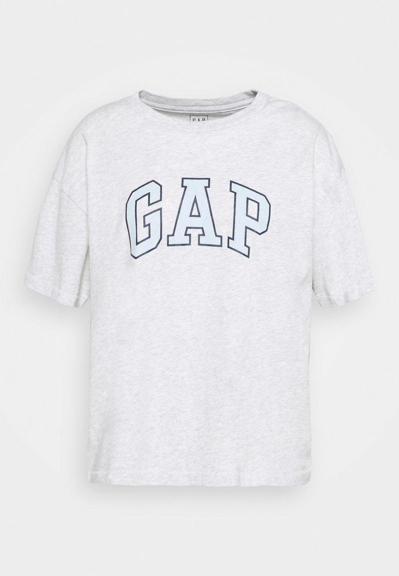 GAP - EASY TEE - Print T-shirt - grey