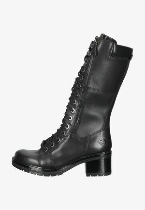 STIEFEL - Platform boots - schwarz