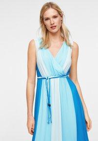 comma - MIT FARBVERLAUF - Maxi dress - turquoise - 3