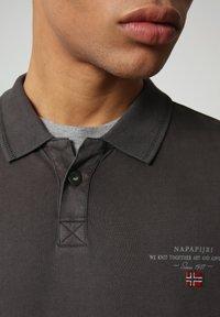 Napapijri - ELLI - Poloshirt - dark grey solid - 2