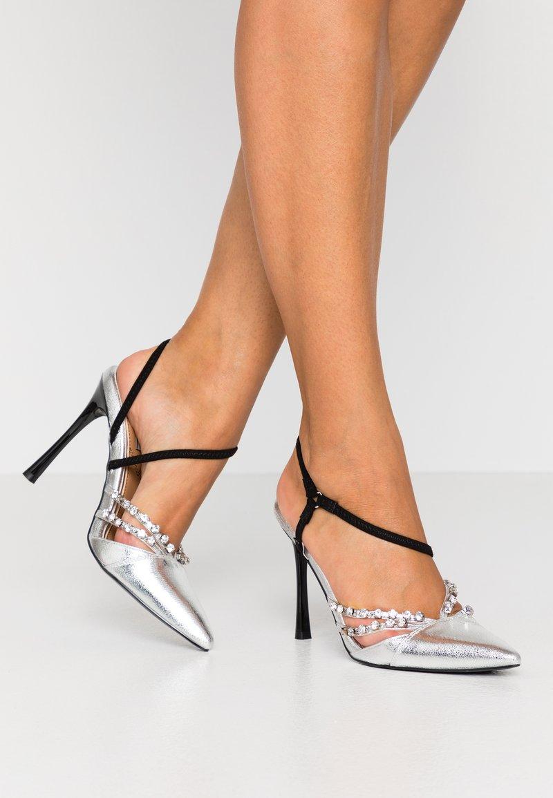 River Island - Zapatos altos - silver