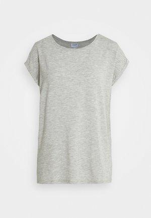 VMAVA PLAIN - Basic T-shirt - light grey melange