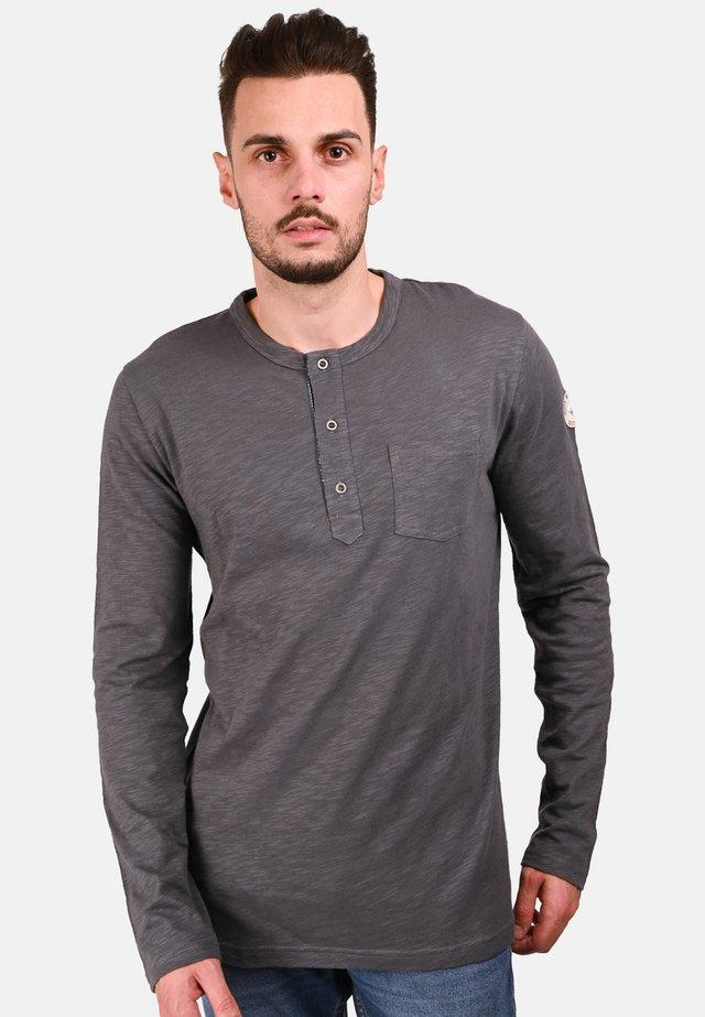 TRENTON - T-SHIRT - Long sleeved top - smoky gray