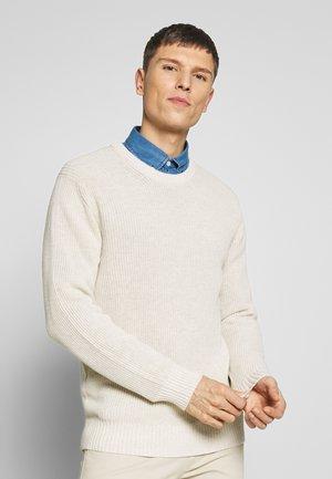 KNUT  - Pullover - light khaki melange