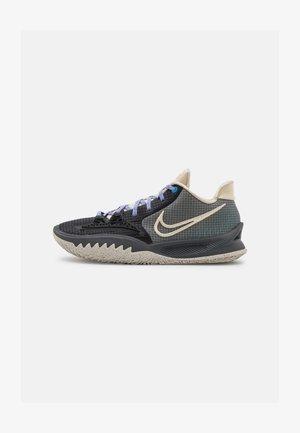 KYRIE LOW 4 - Basketball shoes - black/rattan/dark smoke grey/cyber teal