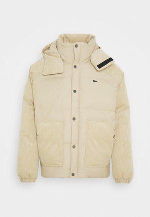 Down jacket - oats