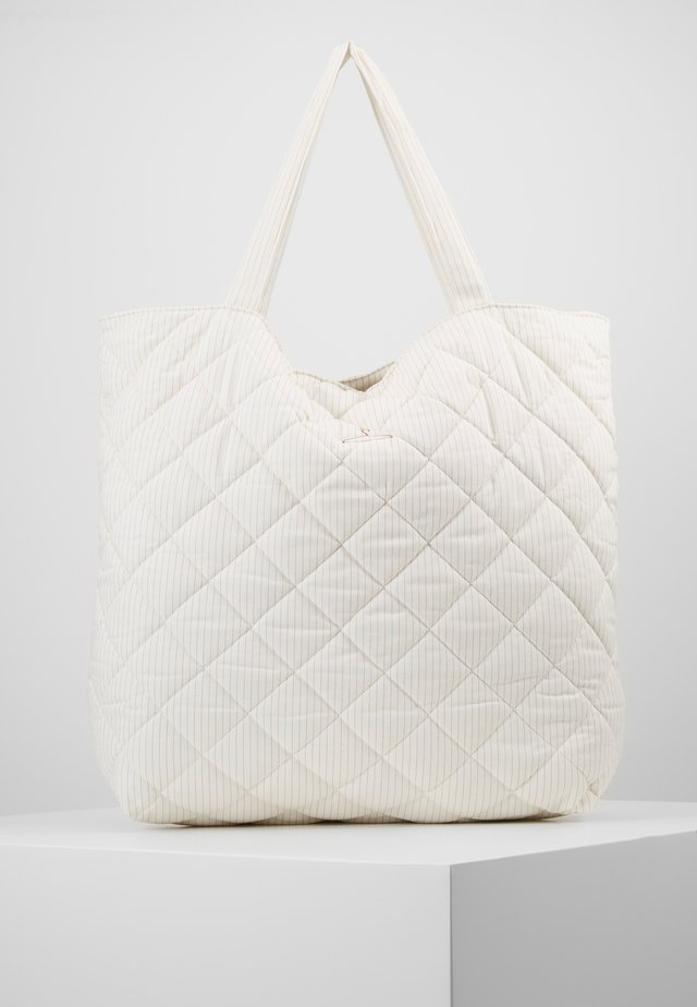 SUSTAINABLE TOTE BAG - Shopping bag - white