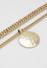 Topshop - SHELL INLY DISC 2 PACK - Necklace - gold-coloured - 4