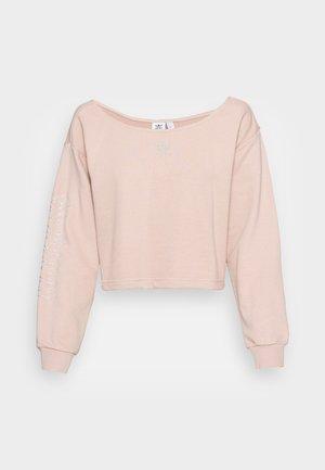 SLOUCHY CREW - Sweatshirt - ash pearl