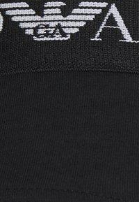 Emporio Armani - BRIEF 3 PACK - Briefs - black/white/black - 4