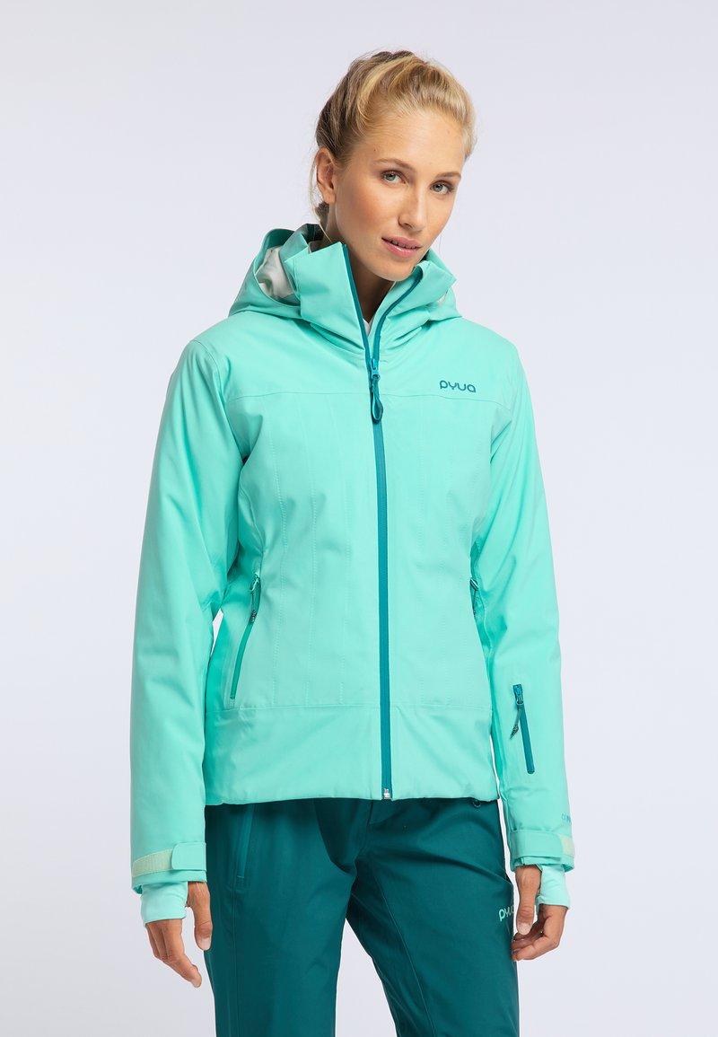PYUA - BLISTER - Snowboard jacket - turquoise