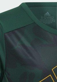 adidas Performance - B SEAS TEE - T-Shirt print - green - 3