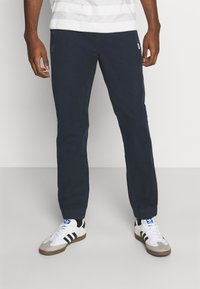 Tommy Jeans - SCANTON JOG PANTS - Pantaloni sportivi - twilight navy - 0