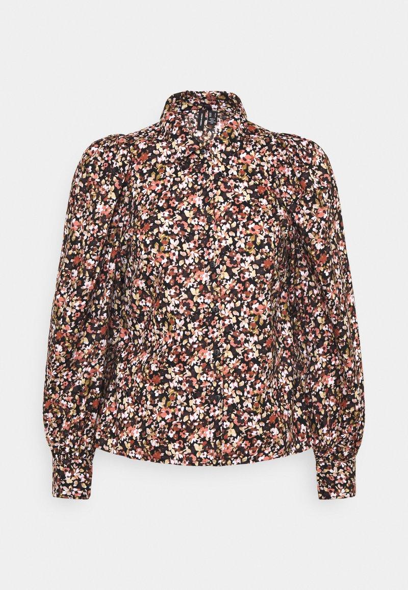 Vero Moda Petite - VMELITA - Button-down blouse - auburn/elita