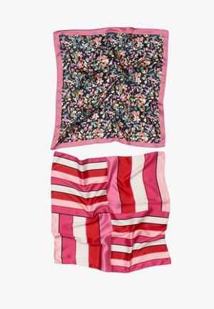 DOPPELPACK HAARBÄNDER MIT BLUMENPRINT UND STREIFEN  - Autres accessoires - mottled pink