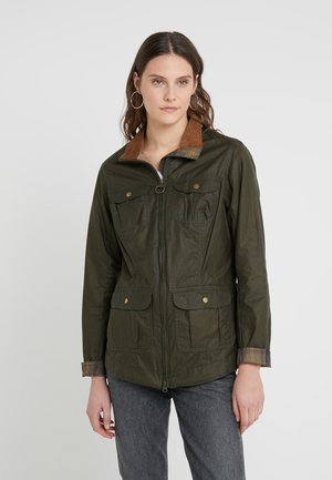 LIGHTWEIGHT FILEY - Summer jacket - olive