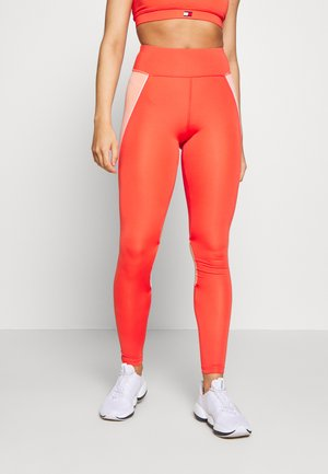 HIGHWAIST TRAINING LEGGING - Leggings - orange