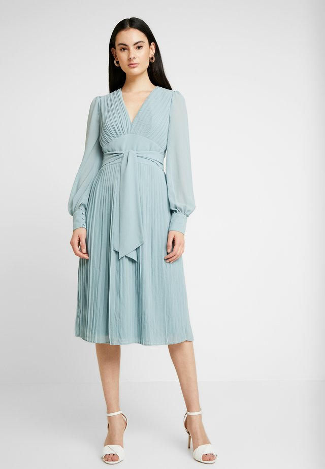 TASHA MIDI DRESS - Cocktail dress / Party dress - sage green