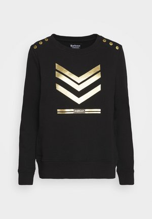LIGHTNING OVERLAYER - Sweatshirt - black