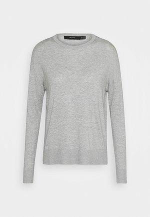 VMJENNIFER O NECK - Jumper - light grey melange