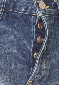 Free People - LOVING GOOD VIBRATIONS - Denim shorts - dark blue denim - 2