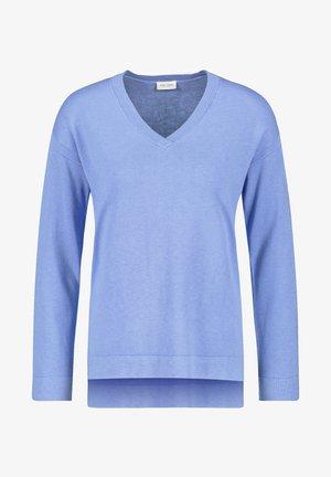 Strickpullover - vivid blue