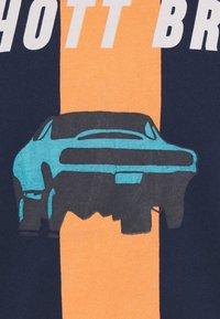 Schott - ZACK - Print T-shirt - navy - 2