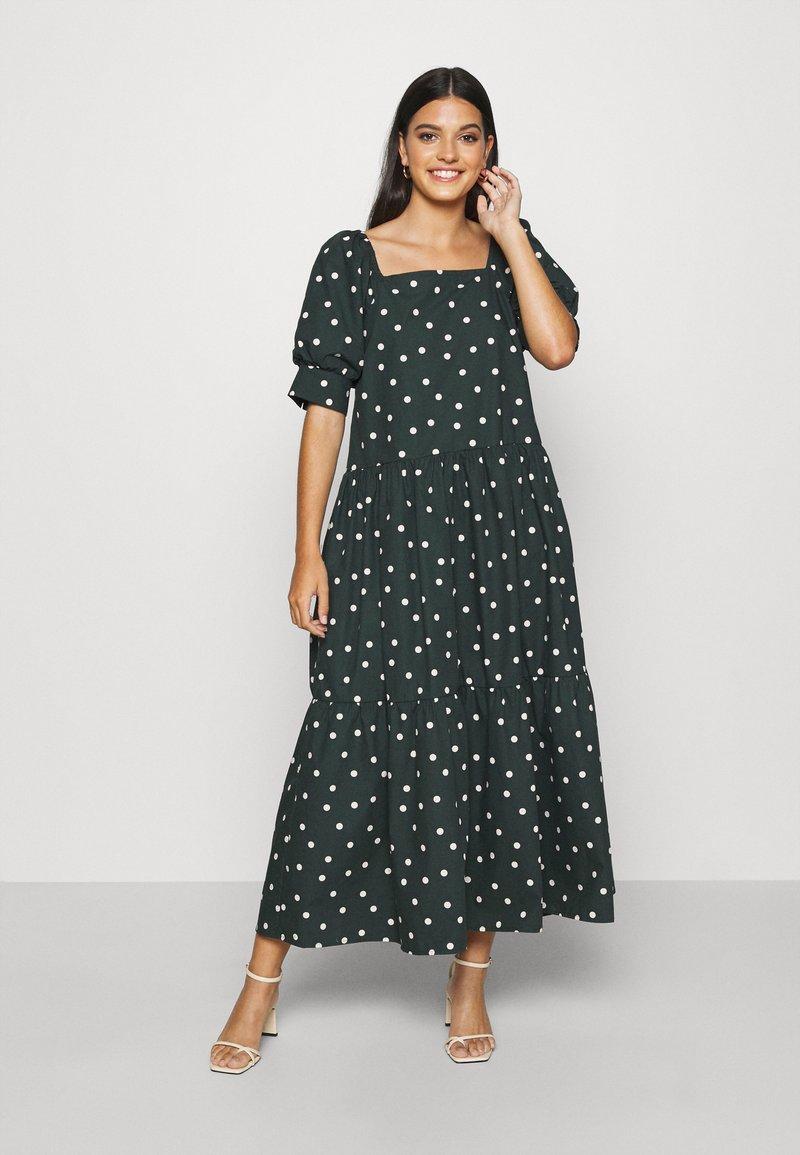 EDITED - JILL DRESS - Maxi šaty - dark spruce
