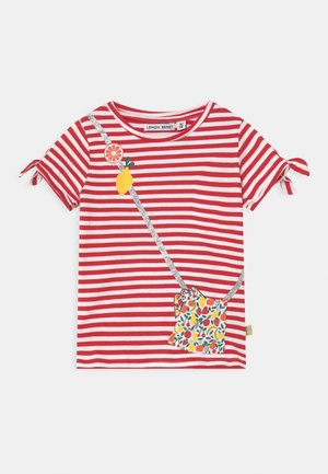 SMALL GIRLS - T-shirt con stampa - tomato puree
