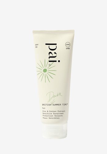 BRITISH SUMMER TIME  - Sun protection - -