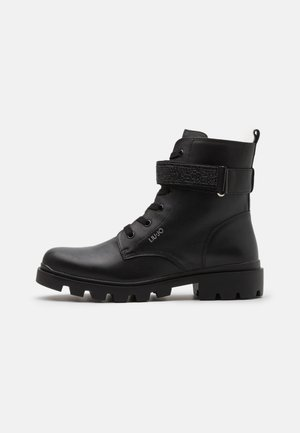 DEBBIE  - Lace-up ankle boots - black