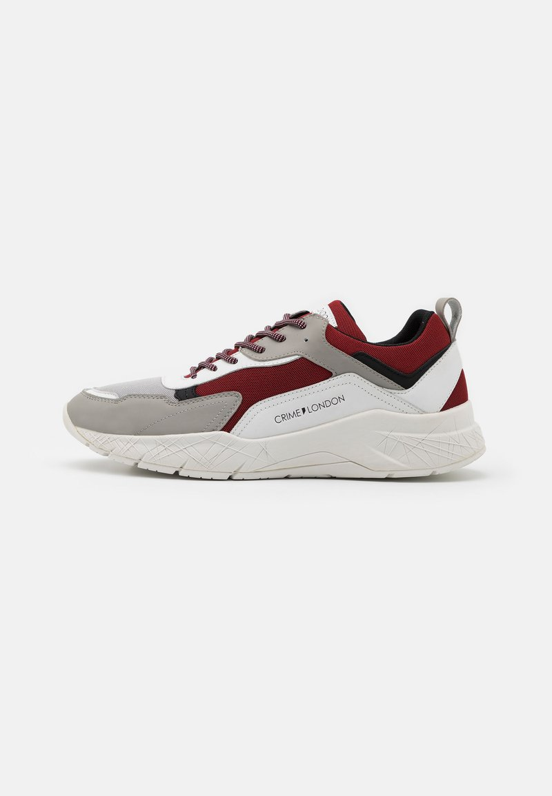 Crime London - Trainers - white/red