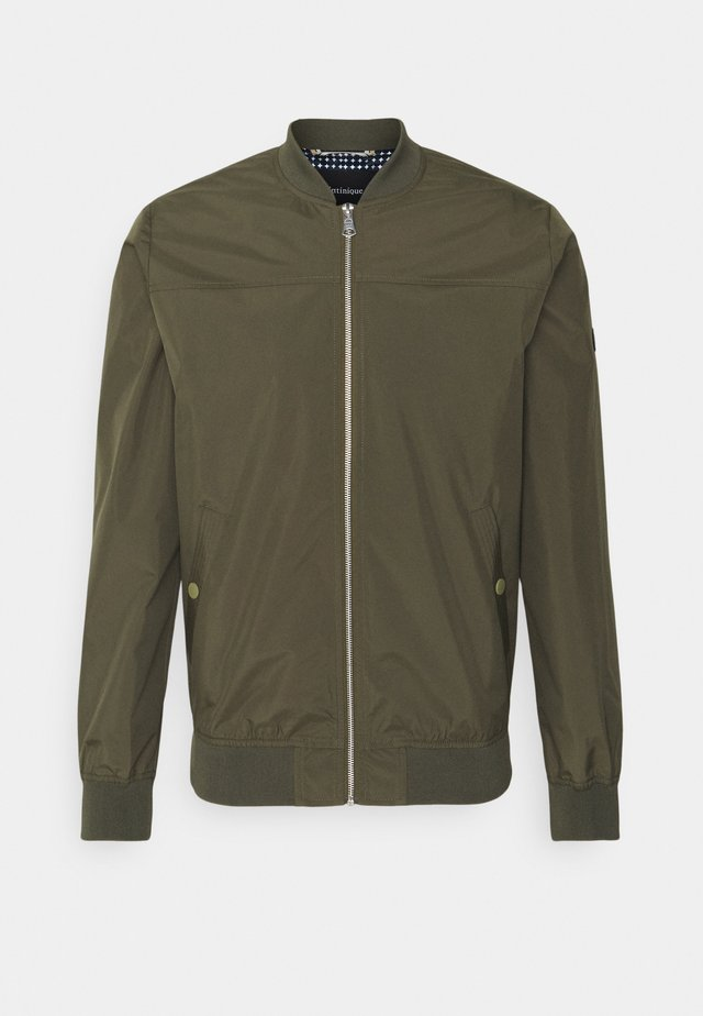 CLAY - Bomber Jacket - olive night