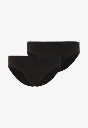 SLIPS BASIC 2 PACK - Kalhotky - black