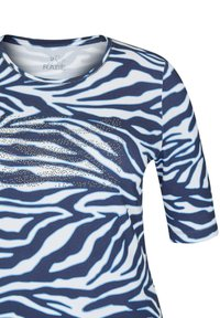 Rabe 1920 - MIT ANIMAL-PRINT UND STRASS-STEINEN - Print T-shirt - dunkelblau - 2