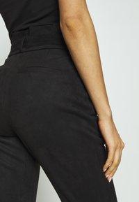 Vero Moda - VMEVA PANT - Trousers - black - 5