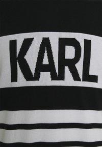 KARL LAGERFELD - CREWNECK - Maglione - black - 2