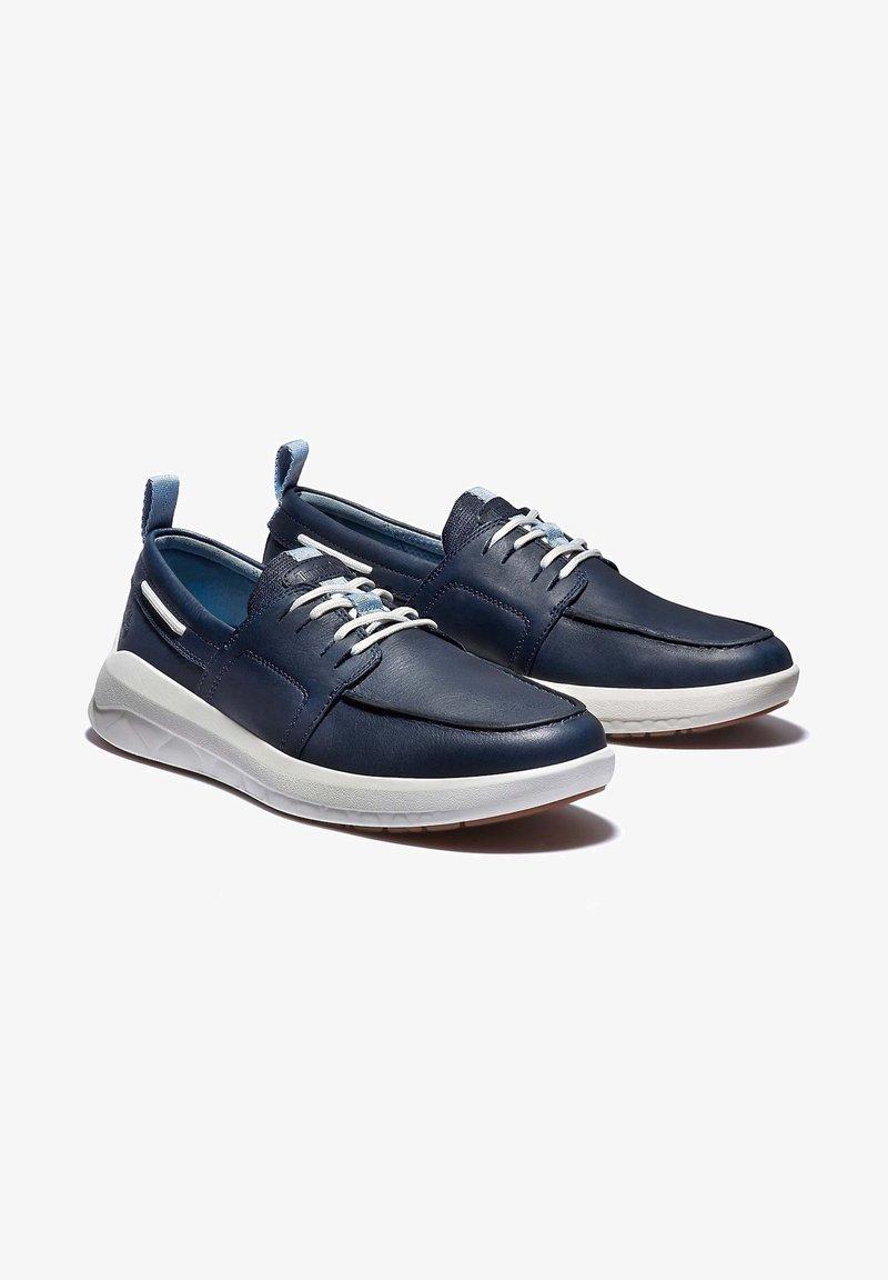 Timberland - BRADSTREET ULTRA BOAT - Boat shoes - black iris