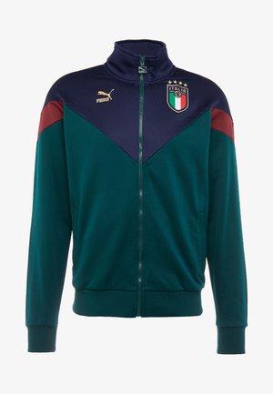 ITALIEN FIGC ICONIC MCS  - Veste de survêtement - ponderosa pine/peacoat