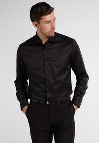Eterna - COMFORT FIT - Shirt - black - 0