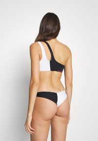 Calvin Klein Swimwear - BLOCKING BRAZILIAN - Bikinibroekje - black - 2