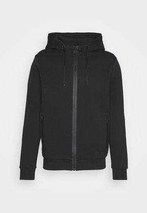 DURDIE - veste en sweat zippée - black