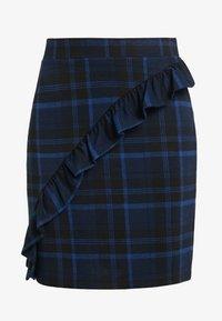 2nd Day - CAST MAXI - Mini skirt - crown blue - 3