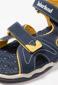 Timberland - ADVENTURE SEEKER 2 STRAP - Walking sandals - navy/yellow - 2