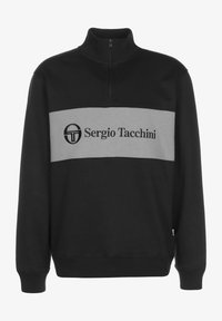 sergio tacchini - SWEATER TEMPLE - Sweatshirt - black - 0